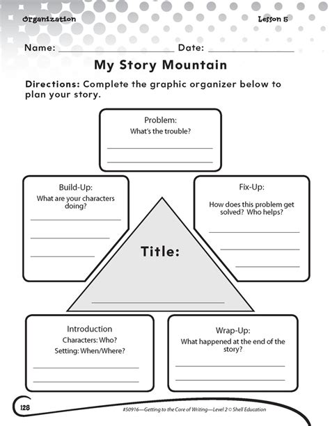 15 best story mountain images on teaching