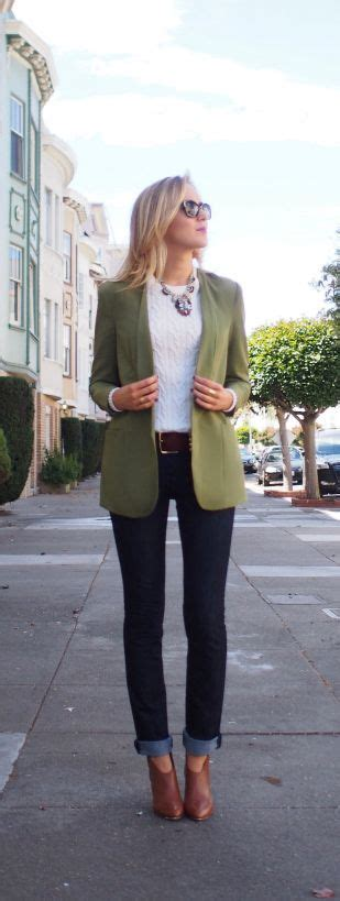 Best 25+ Olive green blazer ideas on Pinterest