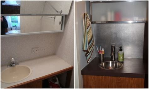 rv bathroom remodeling ideas how to remodel your rv bathroom for cheap