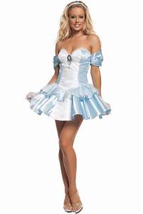 Once Upon A Time Sexy Women's Cinderella Costume