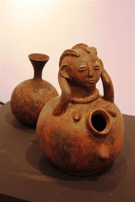 Vasijas de barro   Exposición de arte africano   Pinterest