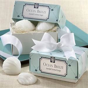 200pcs100box lot quotocean breezequot scented seashell soap With beach wedding shower favors