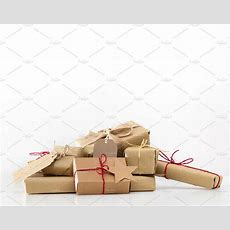 Rustic Retro Gifts, Present Boxes Christmas Time, Eco