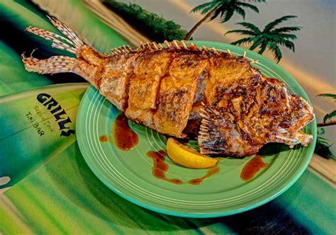 grills seafood deck menu lionfish menu grills seafood deck tiki bar