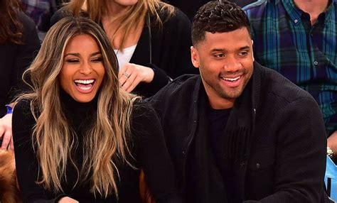ciara  russell wilson  officially engaged read