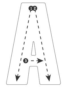 drive  alphabet highway tracing roads road