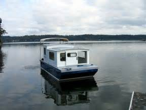 efficient small house plans houseboat devlin designing boat builders