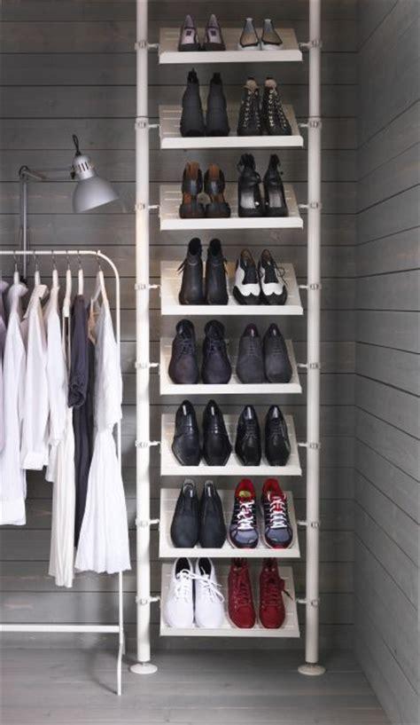 ikea shoe closet pax white stained oak effect closet the walk