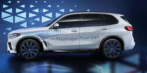 bmw  hydrogen  fuel cell concept previews