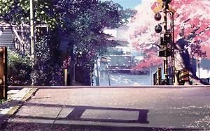 Anime Scenery Cherry Blossom Wallpaper   Anime Backrounds ...