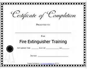 Service Certificate Template For Employees Fire Ext Training Lone Star Fire First Aid