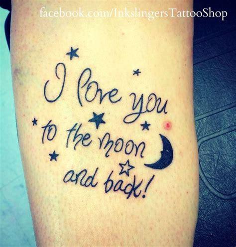 love    moon   tattoos love