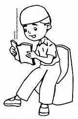 Anak Muslim Sketsa Gambar Mewarnai Kartun Mengaji Coloring Sketch Berdoa Kumpulan Pesawat Contoh Terlengkap Sketchite Kursi Template Binatang Hewan sketch template