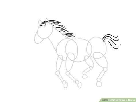 ways  draw  horse wikihow