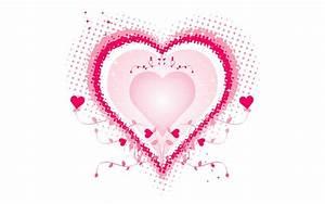 Pink Love Heart Desktop hd Wallpaper | High Quality ...