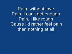 Three Days Grace-Pain (lyrics) - YouTube