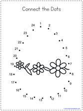 easter dot  dot printables