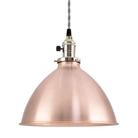 Getty Dome Shade Pendant Light   Barn Light Electric