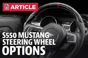 2015 Mustang Steering Wheel Options  2015-2017