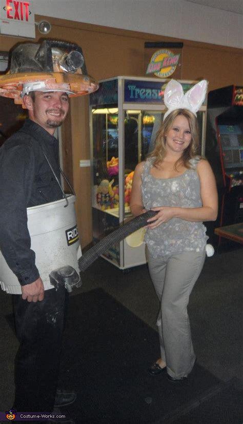 shop vac  dust bunny original costume  couples