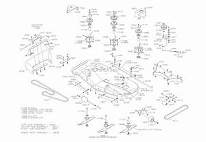Dixon Kodiak 50  2006  Parts Diagram For Mower Deck