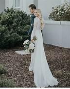 Long Sleeve Modest Wedding Dress by 1000 Ideas About White Wedding Dresses On Pinterest Ivory Wedding Dresses