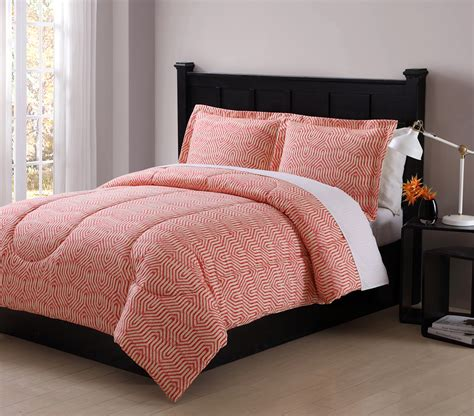 colormate coral ikat comforter set home bed bath