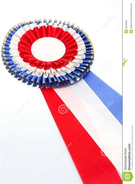 show ribbon stock image image  rosette