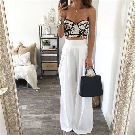 Perfect White Linen Pants Outfit For Summer and Spring - Fashionetter