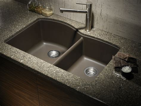 Composite Kitchen Sinks by How To Clean A Granite Composite Sink Diy Crafts