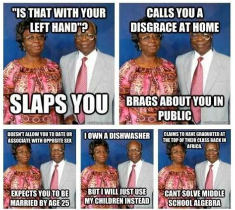 African Parents Meme - funny african memes jokes etc nigeria