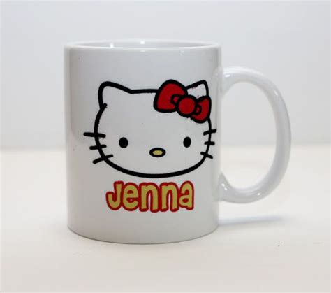Buy hello kitty mug and get the best deals at the lowest prices on ebay! Hello Kitty Personalized Coffee Mug by Muggzilla on Etsy, $15.00 | Personalized coffee mugs ...