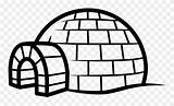 Igloo Clipart Coloring Pinclipart Properties sketch template