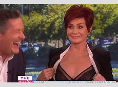 CleavageGate continues as Sharon Osbourne flashes Piers