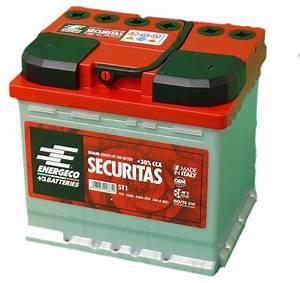 Batterie Voiture Amperage Plus Fort : batterie voiture s curitas st1 12 volts 55 ah 520 a ~ Medecine-chirurgie-esthetiques.com Avis de Voitures