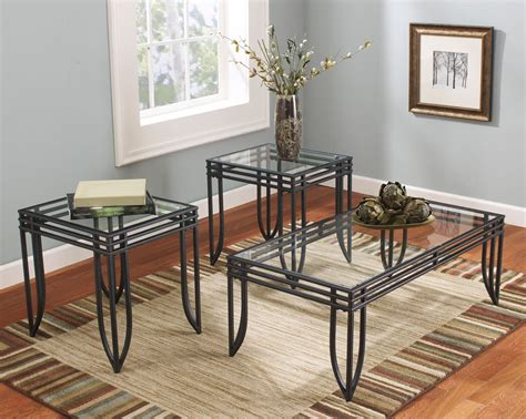 Glass End Tables Cheap, Ashley Furniture Coffee Table Sets