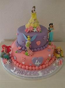 Birthday Cakes Images: Wonderful Disney Princess Birthday ...