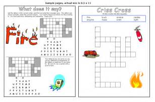 Fire Safety Activity Worksheets