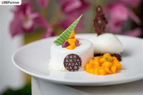 Dragon Boat Festival Rice Cake by Sticky Rice Dimsum And Mango Wine Soaked Cake Yauatcha