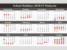 Get Free School Holiday 2019 Malaysia November 2018