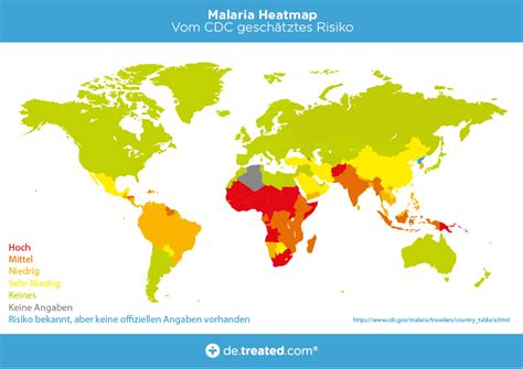 das malaria risiko weltweit unsere grosse uebersichtskarte