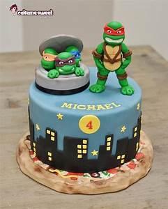 25+ Best Ideas about Ninja Turtle Cakes on Pinterest ...