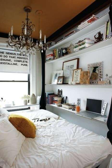 mensole da letto arredare una da letto piccola foto design mag