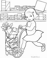 Coloring Pages Grocery Printable Raising Raisingourkids Books Colouring Template Summer Printing Comments sketch template