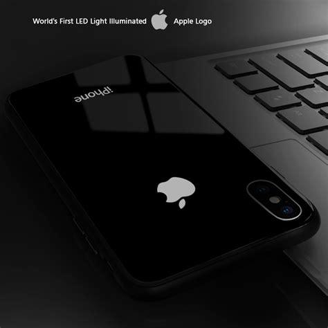 leke apple iphone xs max laser led light illuminated