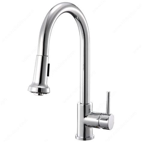 robinet design cuisine robinet de cuisine riveo quincaillerie richelieu