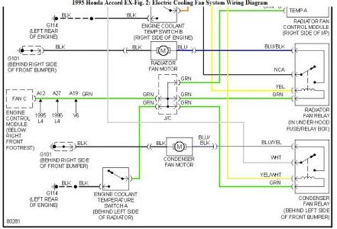 1995 Honda Accord Ac Wiring Diagram by Cooling Fans I A 1995 Accord Ex That Had A Blown