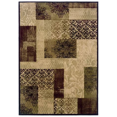 lowes rugs allen roth harrisburg cream rectangular transitional area rug lowe s canada