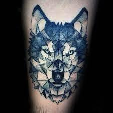 Tatouage Loup Geometrique : r sultat de recherche d 39 images pour tatouage homme loup ~ Melissatoandfro.com Idées de Décoration