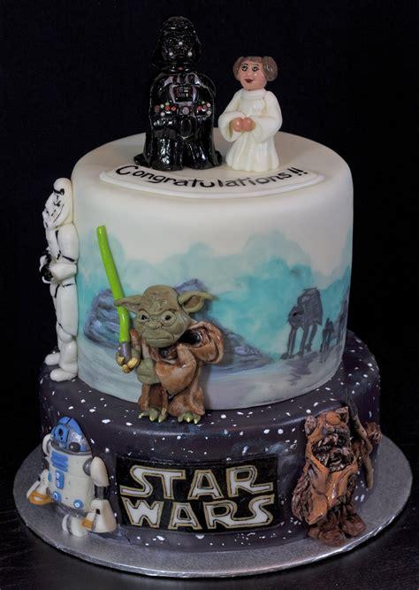 star wars cake cakecentralcom